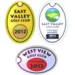 Golf Bag Tag - Style C - Oval Style - Printed one side - Min of 50 (more quantities available)