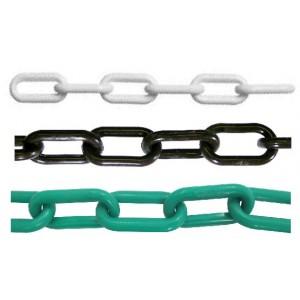 8mm Plastic Chain - Internal Dimensions 49mm X 29mm (25 Mtr. Bag)