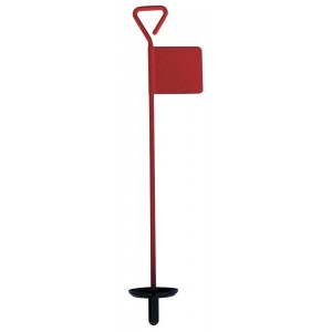 Ally Putting Green Pin - Plain With Plastic Lifter