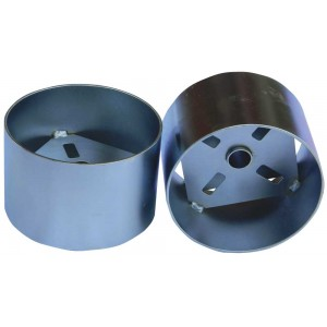 Winter Hole Cup Plated -  US Heavyweight & Grooved Ferrules