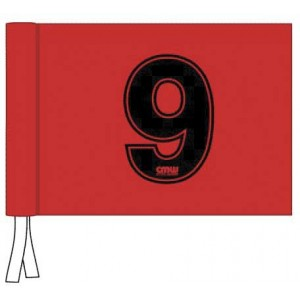 Velcro Flag - Numbered