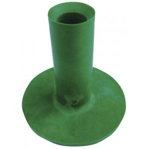 Medium Rubber Tee - Green - 50mm