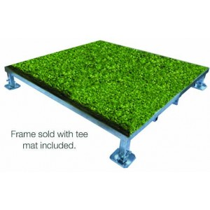 Adjustable Tee Mat Frame - 1.5mtr. X 1.5mtr. with Mat