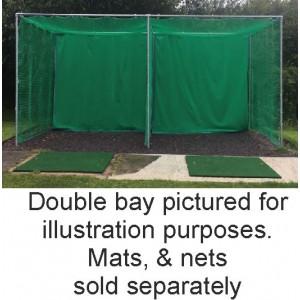 10ft. X 10ft. X 10ft.  Metal Enclosure Frame