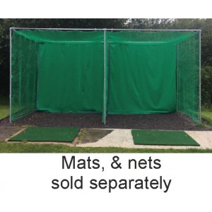 24ft. X 12ft. X 12ft. Double Enclosure Metal Frame