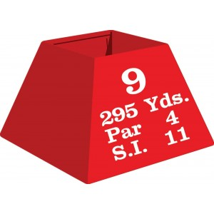 "Metal Tee Box Large 16"" X 11"" X 11"" Hole Info"