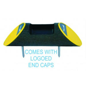 Recycled Plastic Log Shape Broken Tee Caddy - Logoed ends