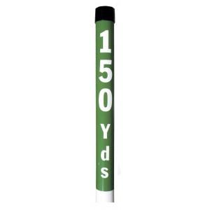 """Plastic Yardage Post 2"""" Dia. X 36"""" Long"""