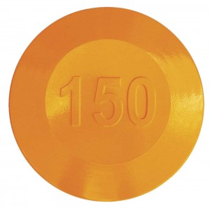 Aluminium Fairway Yardage Marker - Yellow - 150 Yards
