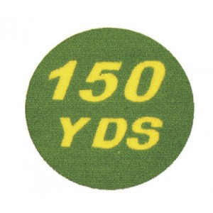 "13"" Dia. Artificial Grass Yardage Marker"
