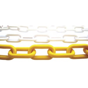 8mm Plastic Chain - Internal Dimensions 49mm X 29mm (25 Mtr. Bag)