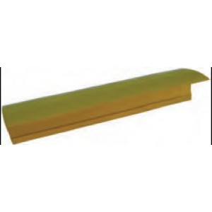 T-Strip - 1m YELLOW Plain Lengths
