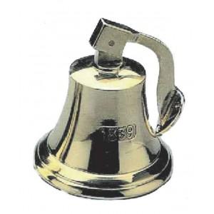 Brass Warning Bell With Lanyard & Fixing Bracket