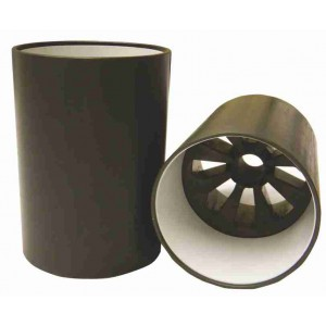Deluxe Die Cast Aluminium Hole Cup With White Liner-U.S. Size Ferrules