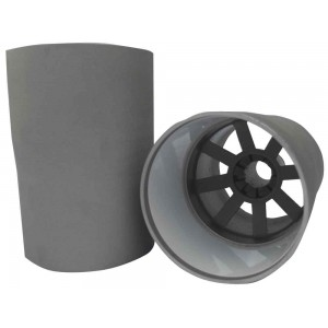 Aluminium Hole Cup With White Liner-U.S. Size Ferrules