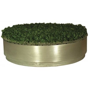 Winter Size Aluminium Hole Cup Cover C/W Artificial Grass