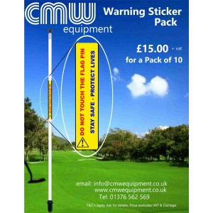 Warning Stickers Pack