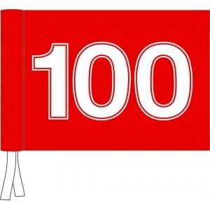 Tie Flag - Driving Range Flag Standard