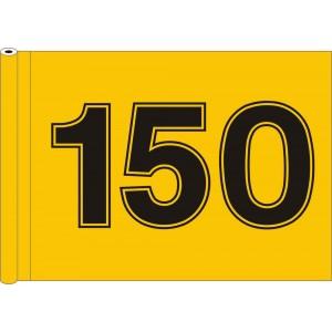 Tubed Flag - Driving Range Flag Standard
