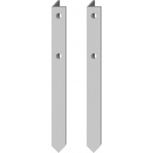 """Ally Angle Stake - 52"""" for 16X12 18X12 24X12 Sign (pair)"""