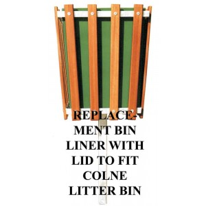 Replacement Bin Liner For Priory/Colne With Lid
