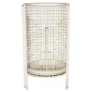 Mesh Litter Basket - Round  With Solid Bottom (Prev. Style No. 9)