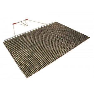 Drag Mat - 6feet X 4feet - Steel