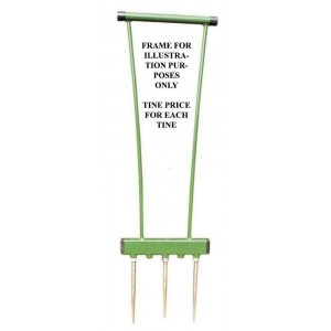Aeration Fork - Solid Tines