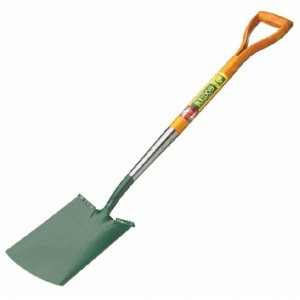 Strapped & Treaded Digging Spade