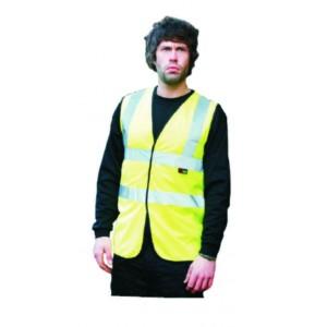 Hi-Vis Vest / Waistcoat - Yellow