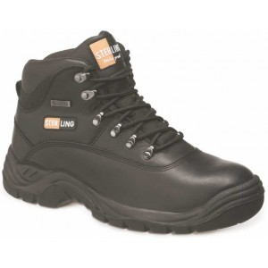SS812SM / SS812SM - Brown / Black Waterproof Safety Hiker Boot