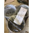 3 MIXED ALUMINIUM US LOCKING HOLE CUPS OLD STYLE - CLEARANCE SPECIAL - LOT PRICE (PACK 180605)